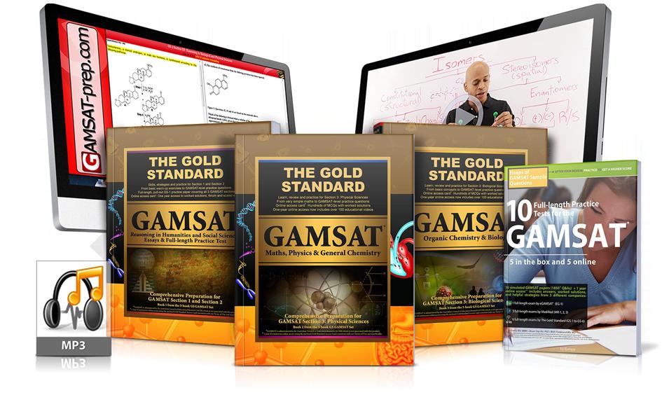 GAMSAT Courses and GAMSAT Preparation | Gold Standard GAMSAT