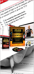 Gold Standard Complete GAMSAT Course including Course Materials and Personal Help: We begin with the basics and take you up to GAMSAT level.