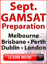 September GAMSAT Preparation